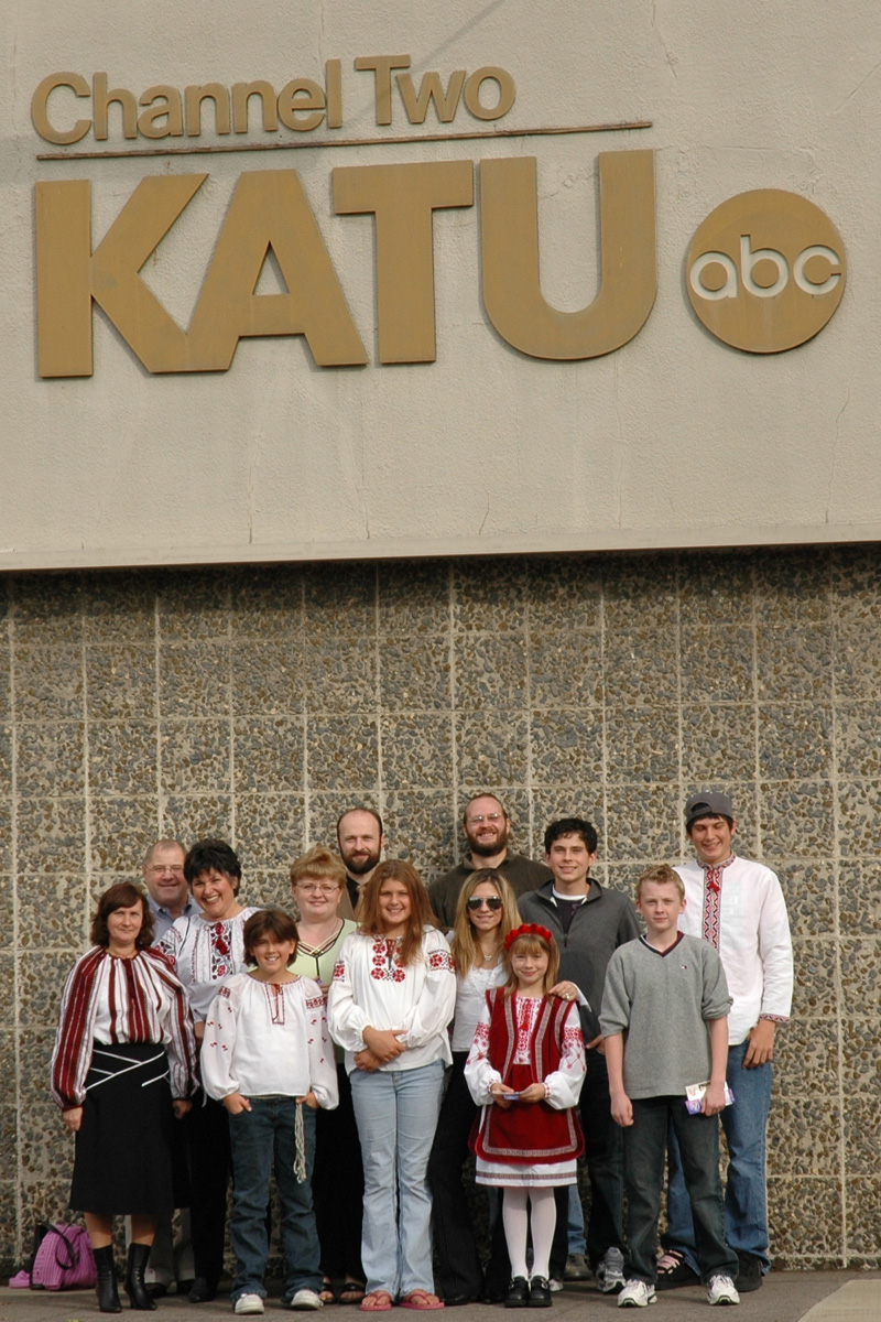 Promotion of 2005 Ukrainin Fall Festival on KATU-TV - St